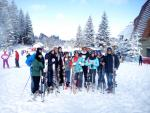 Team building ski cu Roxana instructor schi la R&J ski school & rental ski din Poiana Brasov