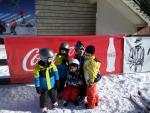 The end of ski lessons sesion with Roxana ski instructor of ski school Poiana Brasov