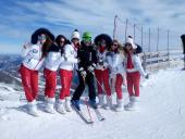 00001. Ski instructor of R&J ski school Sinaia, Azuga, Predeal